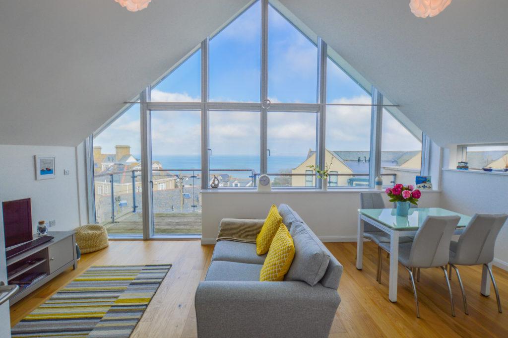 Magnificent Seasalt Loft Luxury Apartment St Ives Sleeps 4 Sea Home Interior And Landscaping Ologienasavecom
